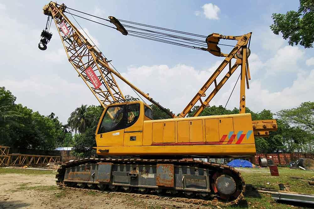 Crawler Crane, XCMG QUY 70 70 Ton