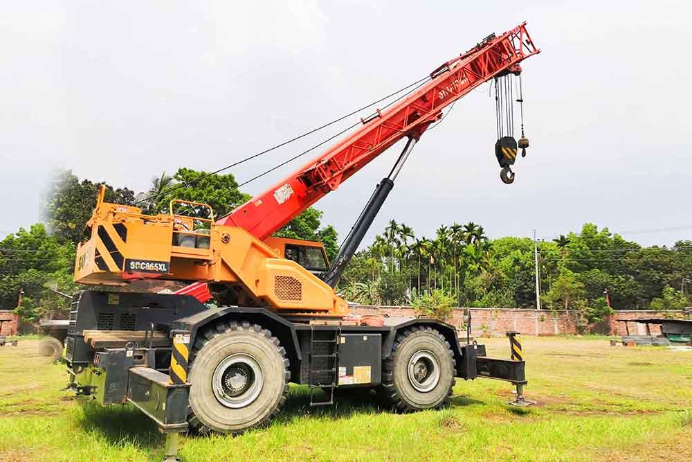 Rough Terrain Crane, SANY SRC 550 55 Ton